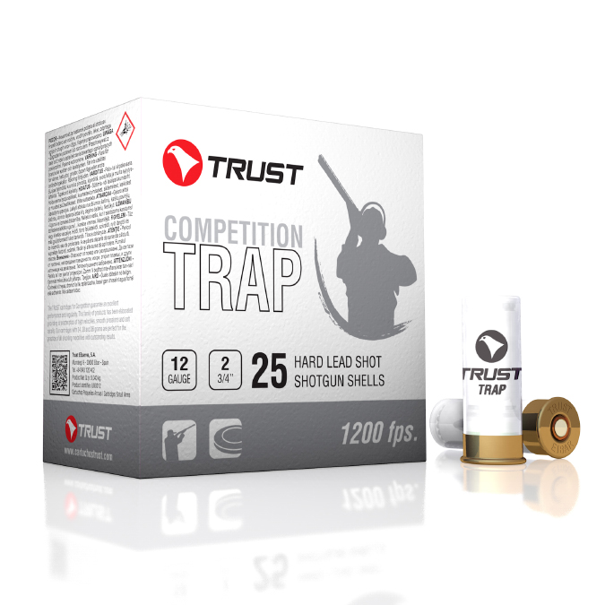 TRUST 12G 1200FPS WHITE TRAP/SKEET 28GM 7.5/9